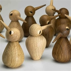 And I love these children's wooden birds