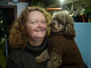 Here is Jayne with Poppy
