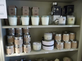 A great choice of candles...