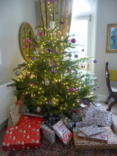 Christmas morning - the old man with the white beard seems to have paid us a visit during the night!!