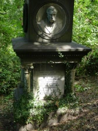 Gravestone of Edith O'Gorman, the escaped nun.