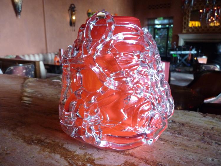 Funky glass decorative item