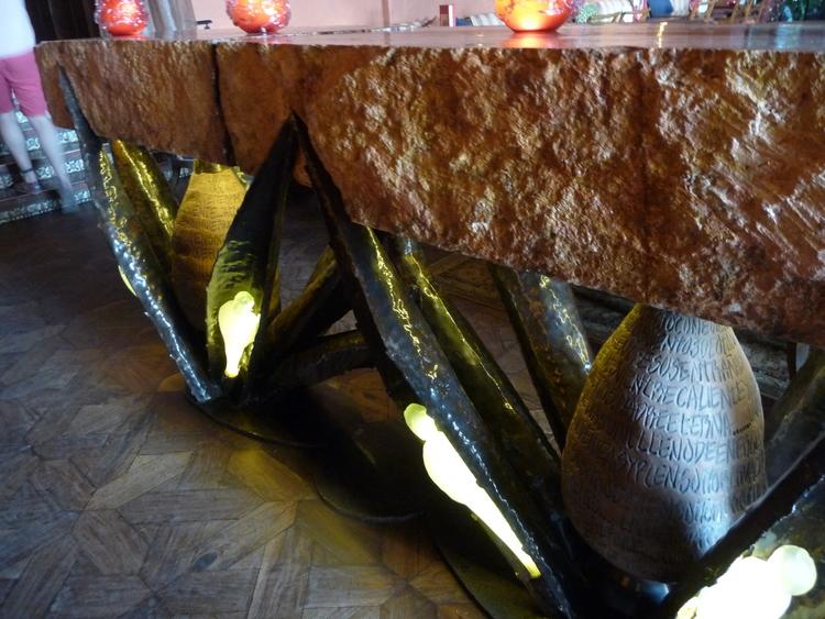 Unusual bar table
