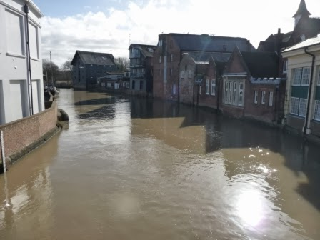 The river in Lewes