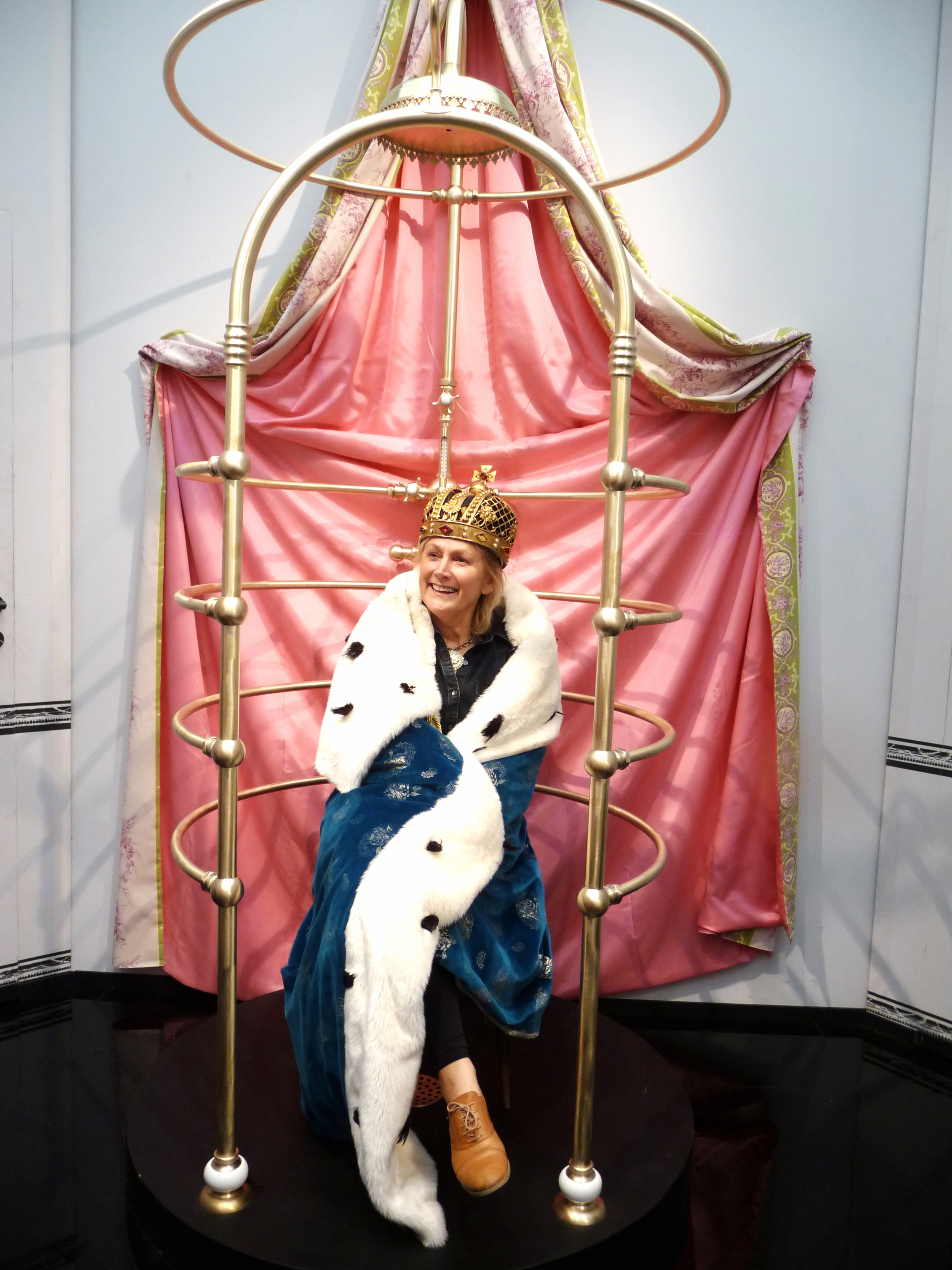 and there's me, queen of the shower!!