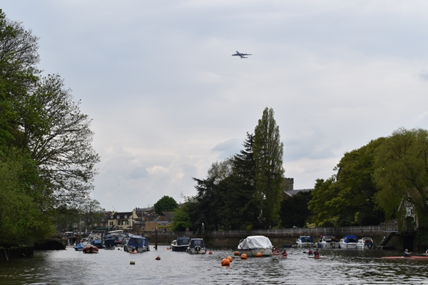 In Richmond you are never far from the flight path to Heathrow