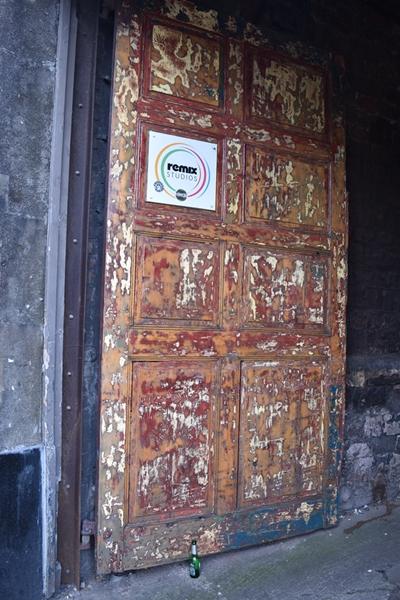 Fabulous patina on this door