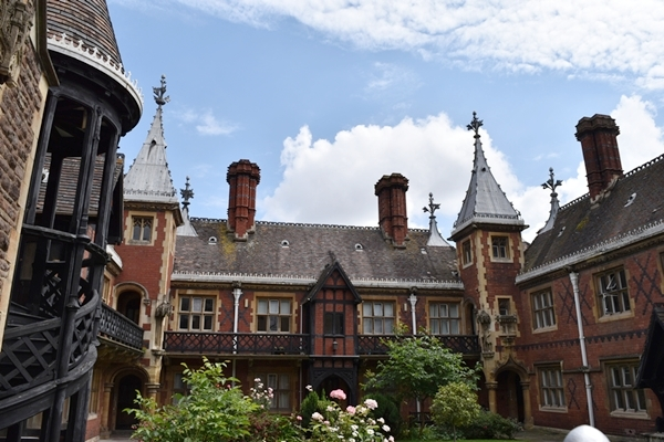 Beautiful alms houses