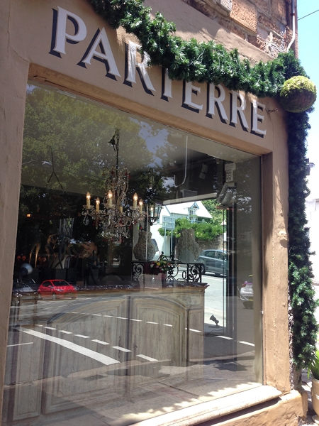 Parterre is like a Petersham Nurseries