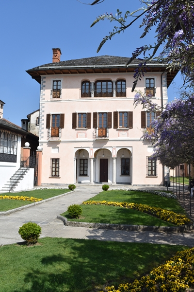 The town hall of Orta San Giulio