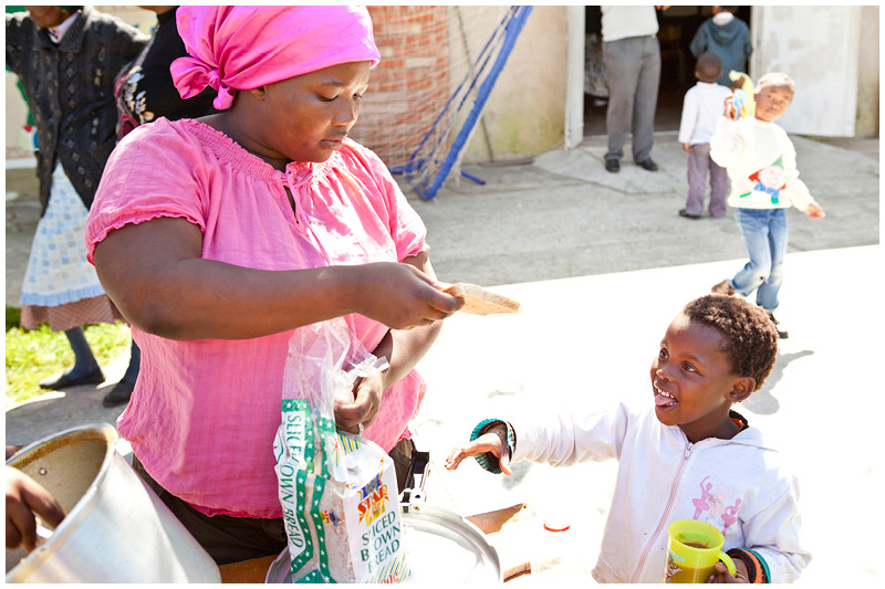 These soup kitchens provide approximately 1000 meals a day.