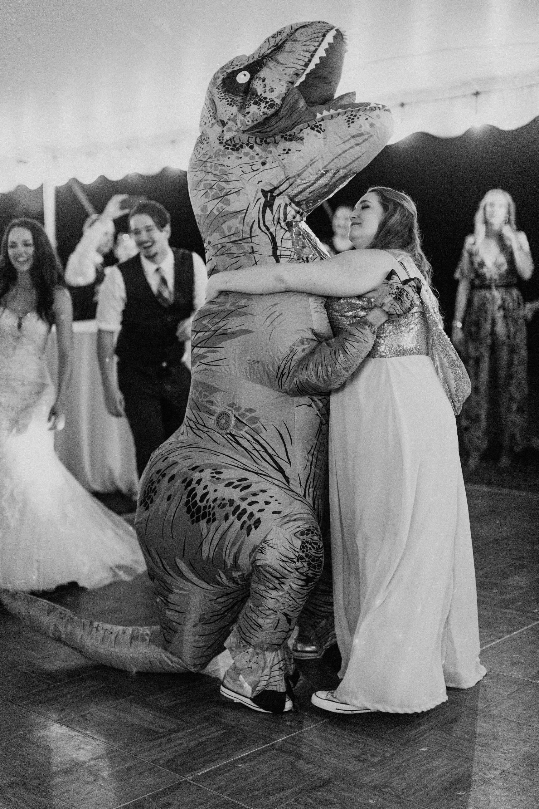 t-rex wedding   Taylor Heery Photography