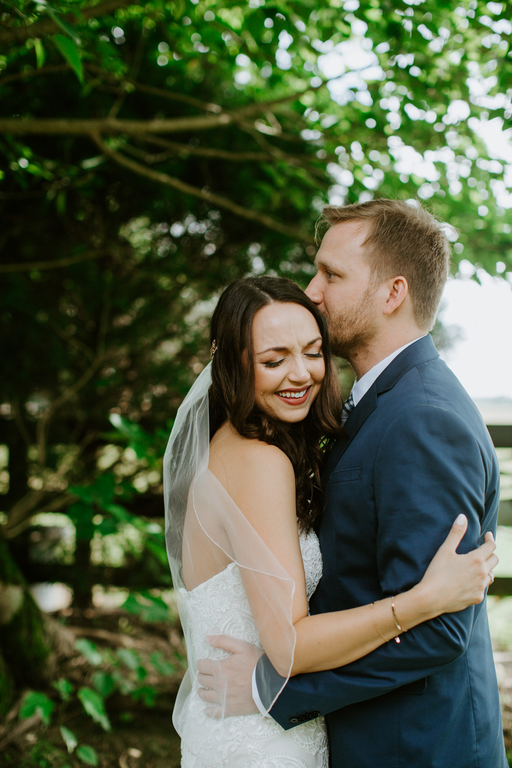 Couples Portraits on Wedding Day. Taylor Heery Photography.