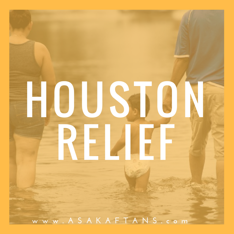 Asa Kaftans teamed up with Amazon to provide aid to the families in need of diapers and formula.
