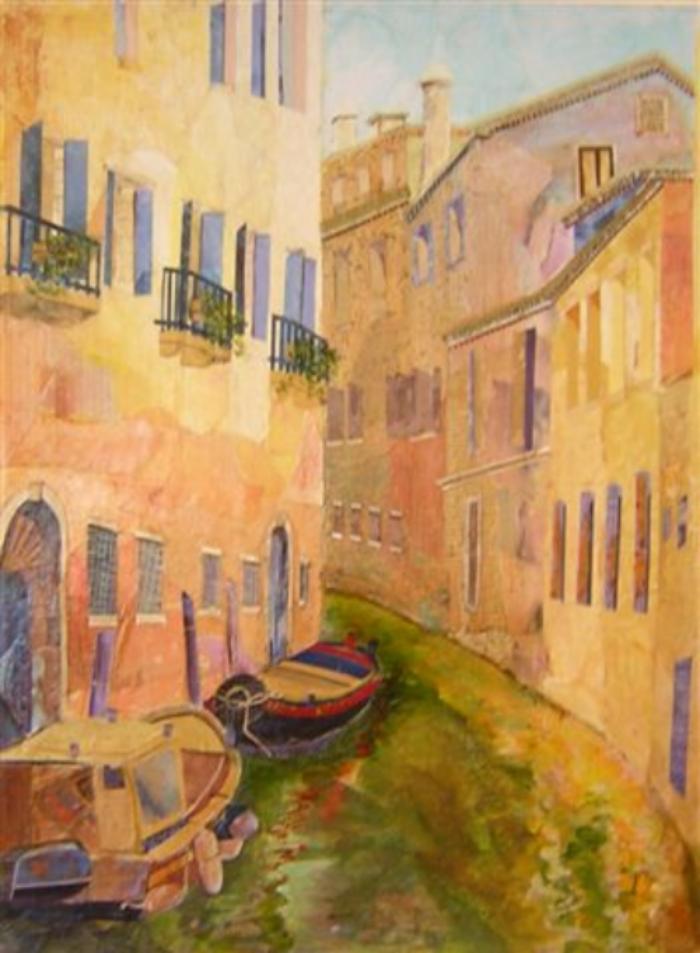 """Golden Venice  18"""" x24"""" $1800"""