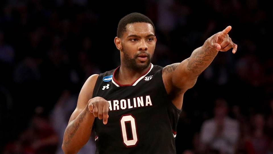 """""""Senior guard Sindarius Thornwell made a name for himself during South Carolina's Final Four run back in March.""""  Photo is courtesy of http://www.sportingnews.com/"""
