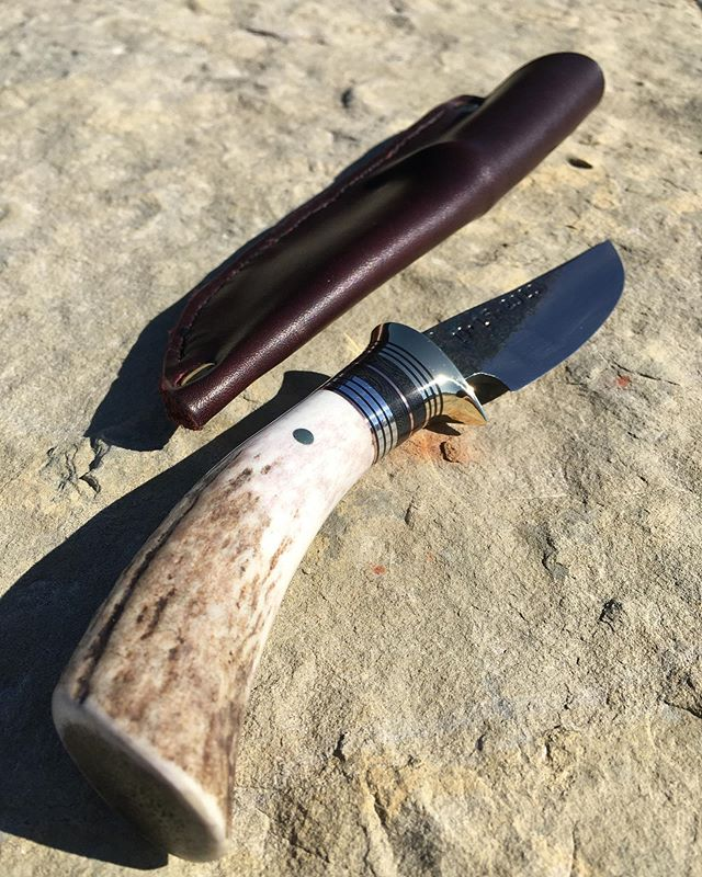 Trout and deer gifts never get old! #fangmountain #knives #codywyoming #bladesmithing