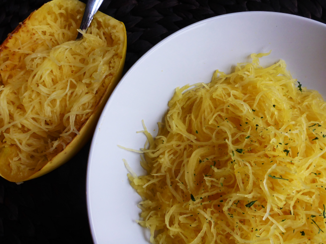 Baked Spaghetti Squash   Personally Paleo
