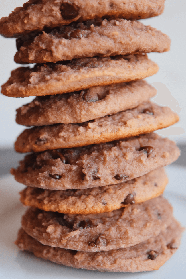 Raspberry Chocolate Chip Cookies | Personally Paleo