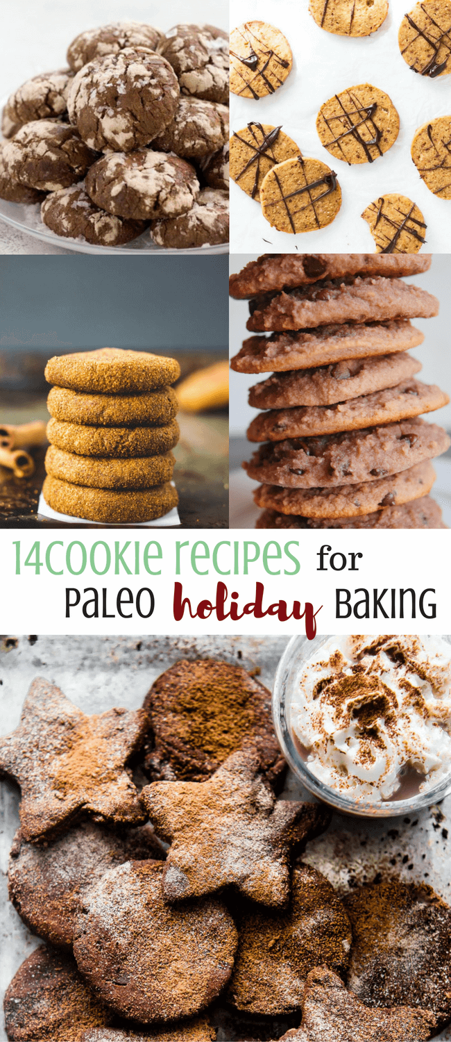 14 Cookie Recipes for Paleo Holiday Baking | Personally Paleo