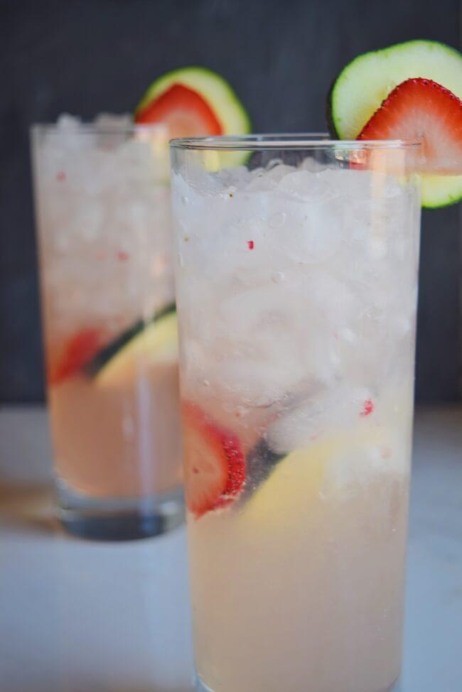 Strawberry Sage Agua Fresca | Personally Paleo