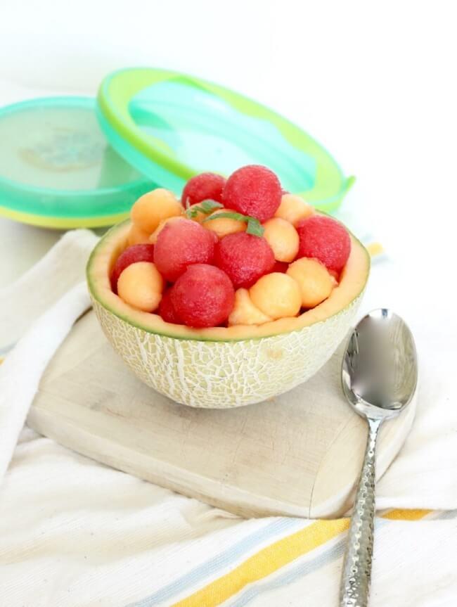 Melon Ball Salad   Lively Table
