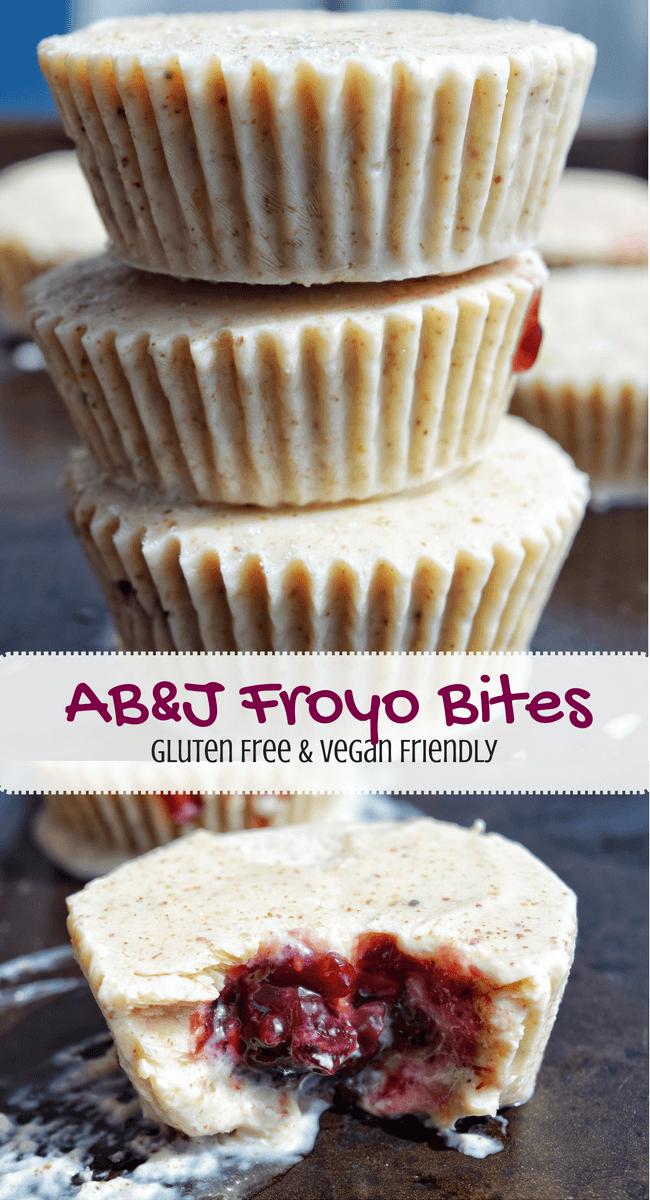 AB&J Froyo Bites (Gluten Free, Vegan Friendly) | Personally Paleo