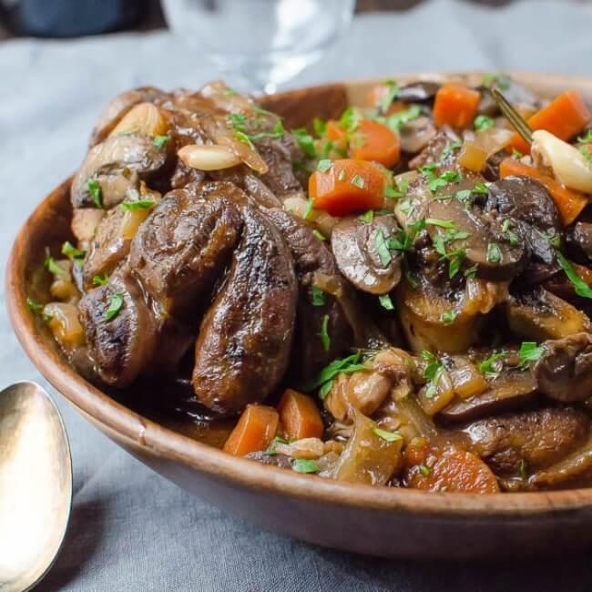 Garlic Wine Braised Veal Shanks | Garlic and Zest