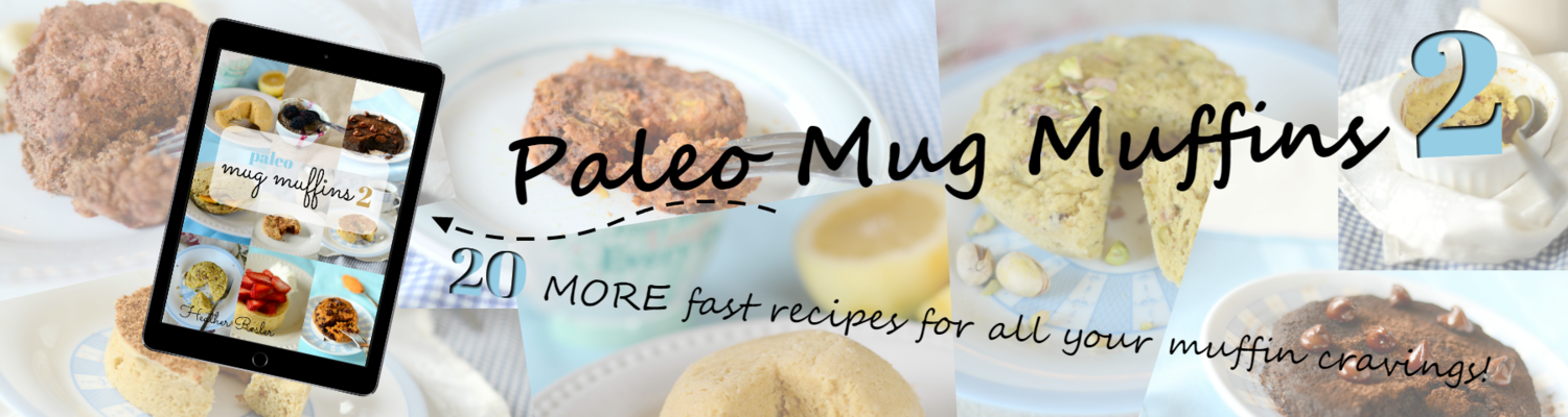 Paleo Vegan Brownie Recipe & Paleo Mug Muffin 2 Review | Personally Paleo