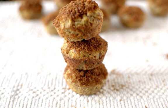 Banana Snickerdoodle Donut Muffins | Athletic Avocado