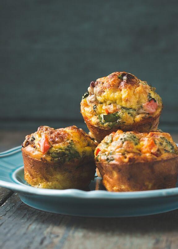 Crustless Mini Quiche Muffins | Will Cook For Friends