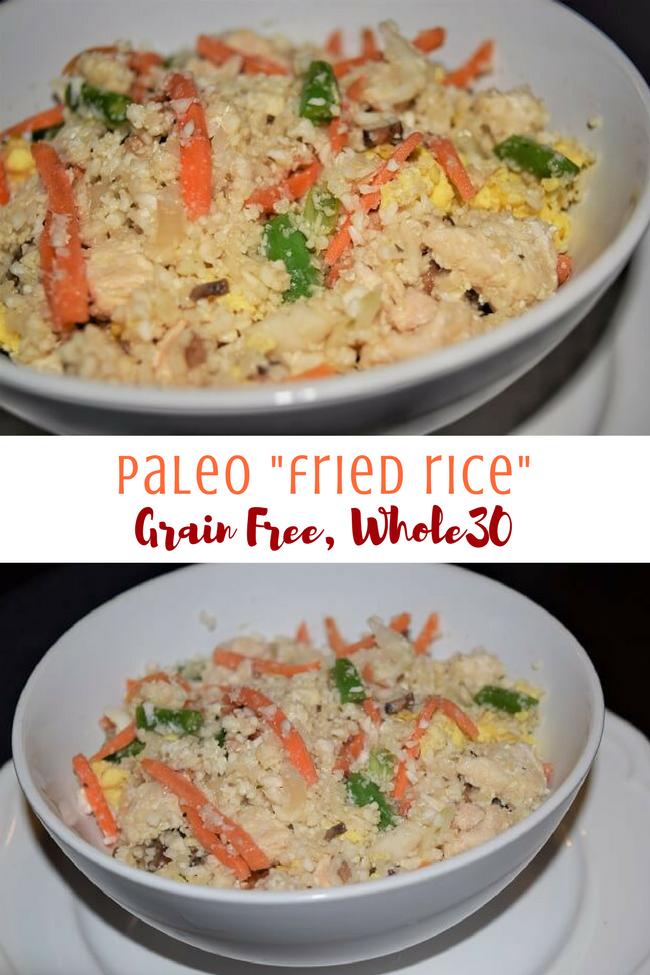 "Grain Free Paleo ""Fried Rice"" (Whole30, Soy Free) | Personally Paleo"