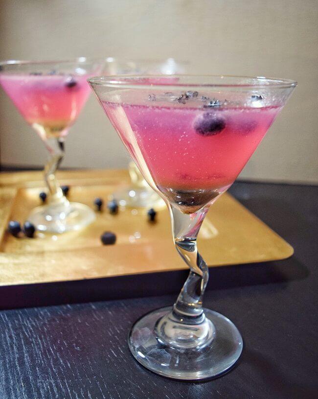 Sugar Free Ginger Berry Martini | Personally Paleo
