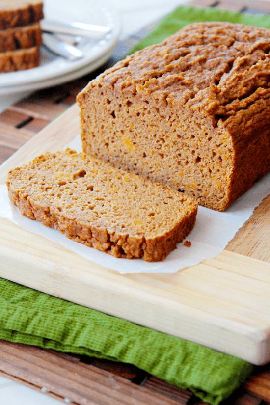 Paleo Cinnamon Sweet Potato Bread | Sunny Side Ups