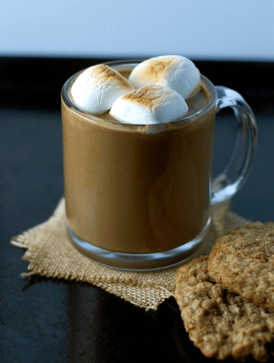 Extra Thick Sweet Potato Hot Chocolate | Turnip the Oven