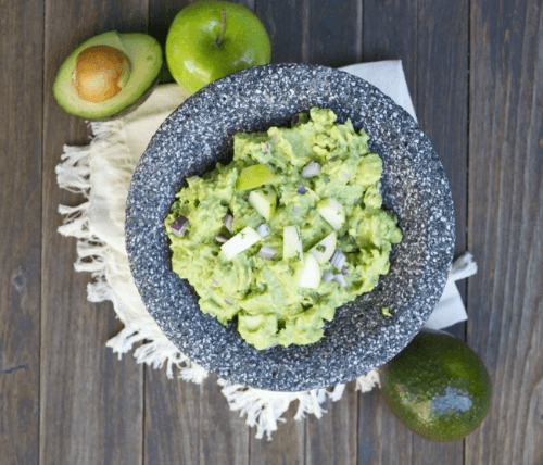 Apple Guacamole | A Dash of Megnut