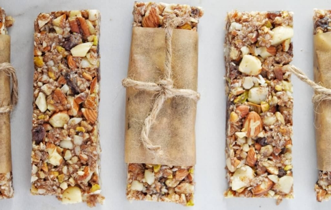Best Ever Grain Free Granola Bars