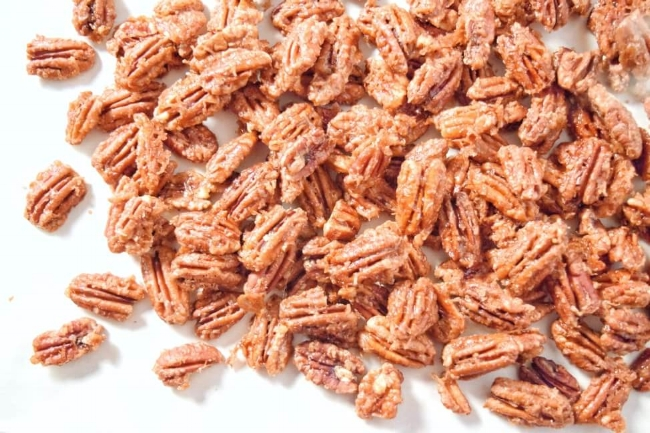Cinnamon Coconut Roasted Pecans