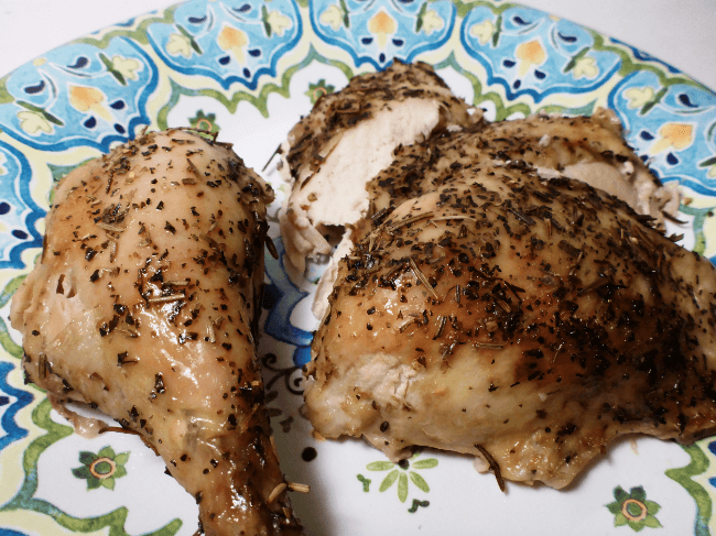 Slow Cooker 4 Herb Chicken | Personally Paleo