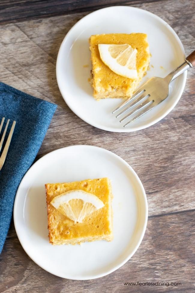 Yummy Creamy Paleo Lemon Bars | Fearless Dining