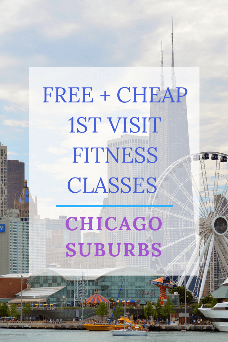 Free + Cheap 1st Visit Fitness Classes - Chicago Suburbs | Personally Paleo