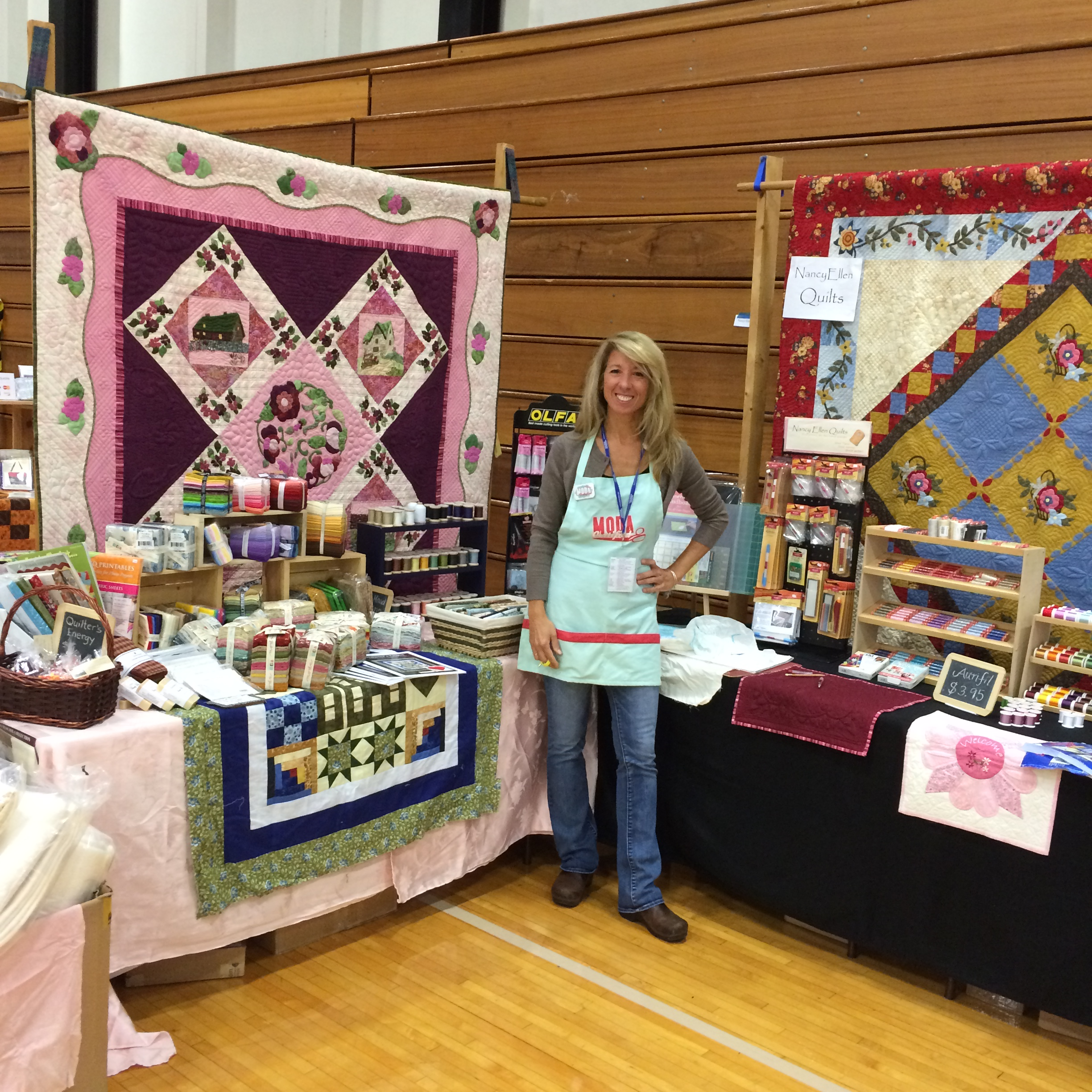 Contact me  with your questions about products, special orders, shipping or on-line quilt support.