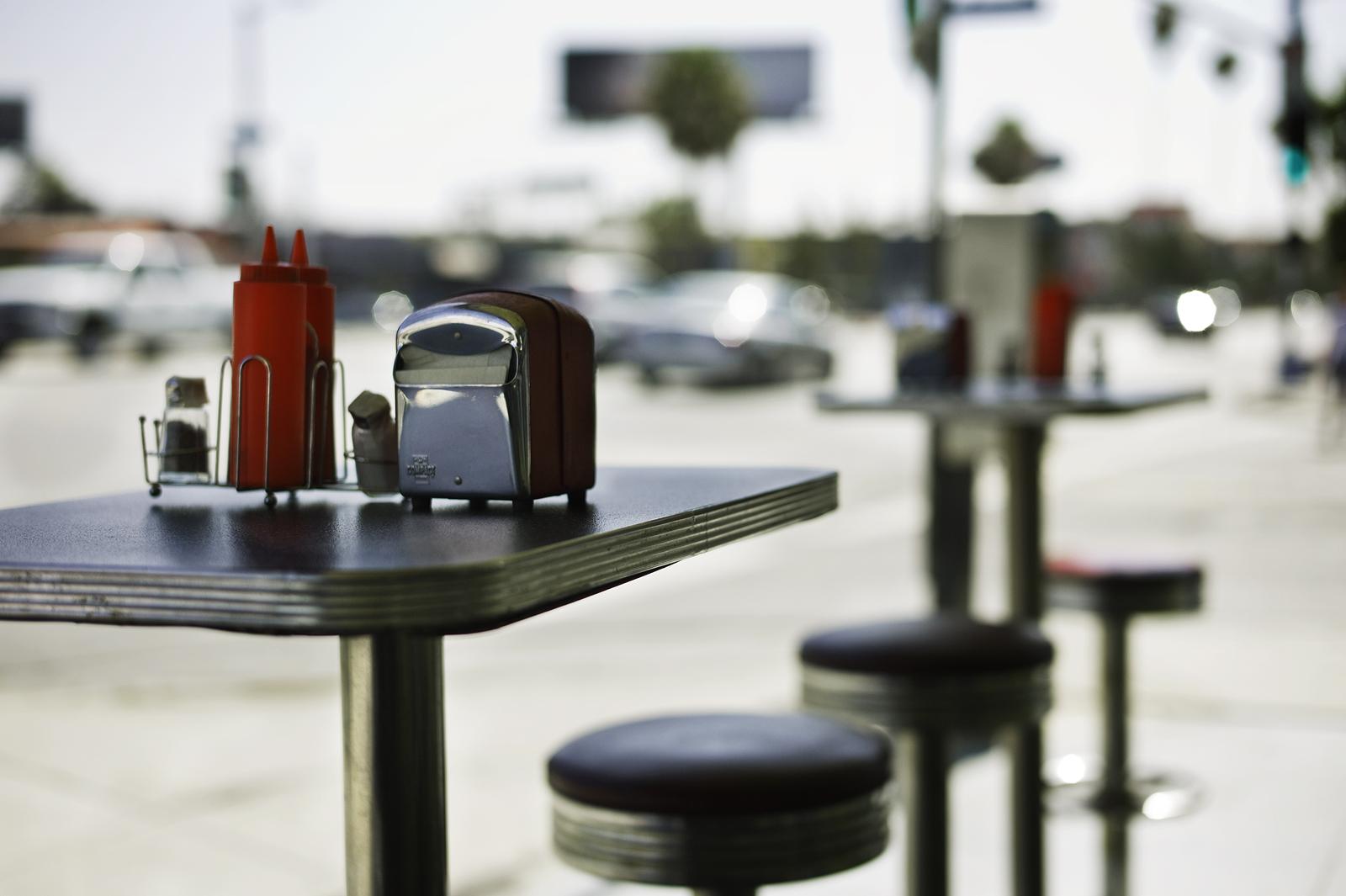 Los Angeles Diner, CA