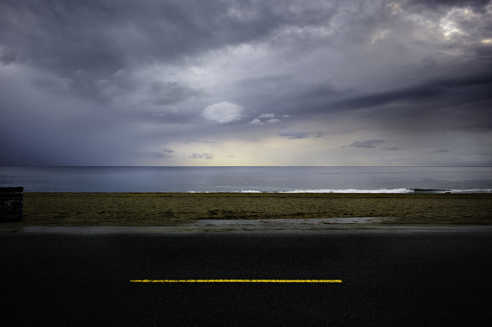 The Yellow Line, Malibu, CA
