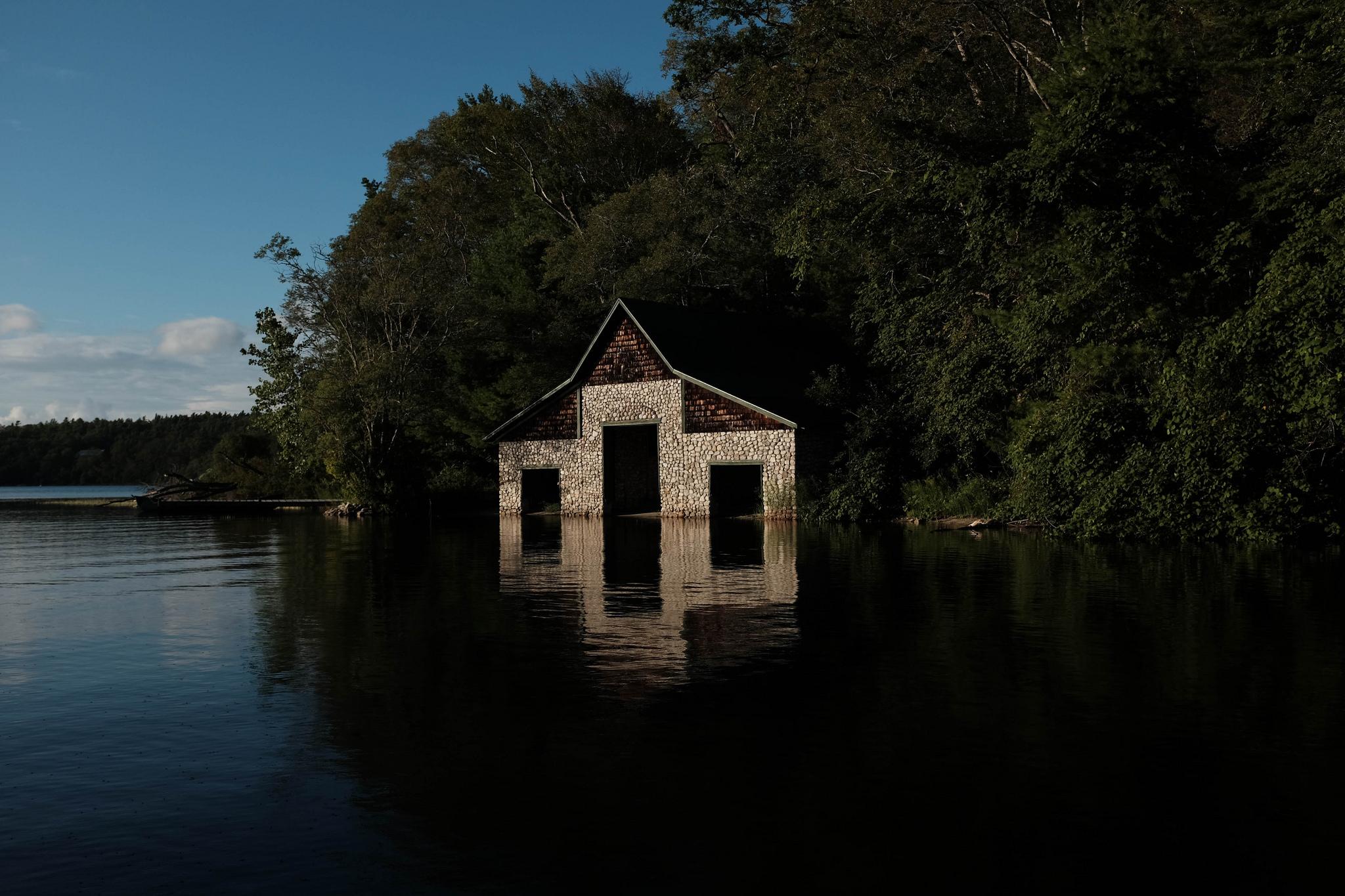 Boathouse, Plymouth, MA