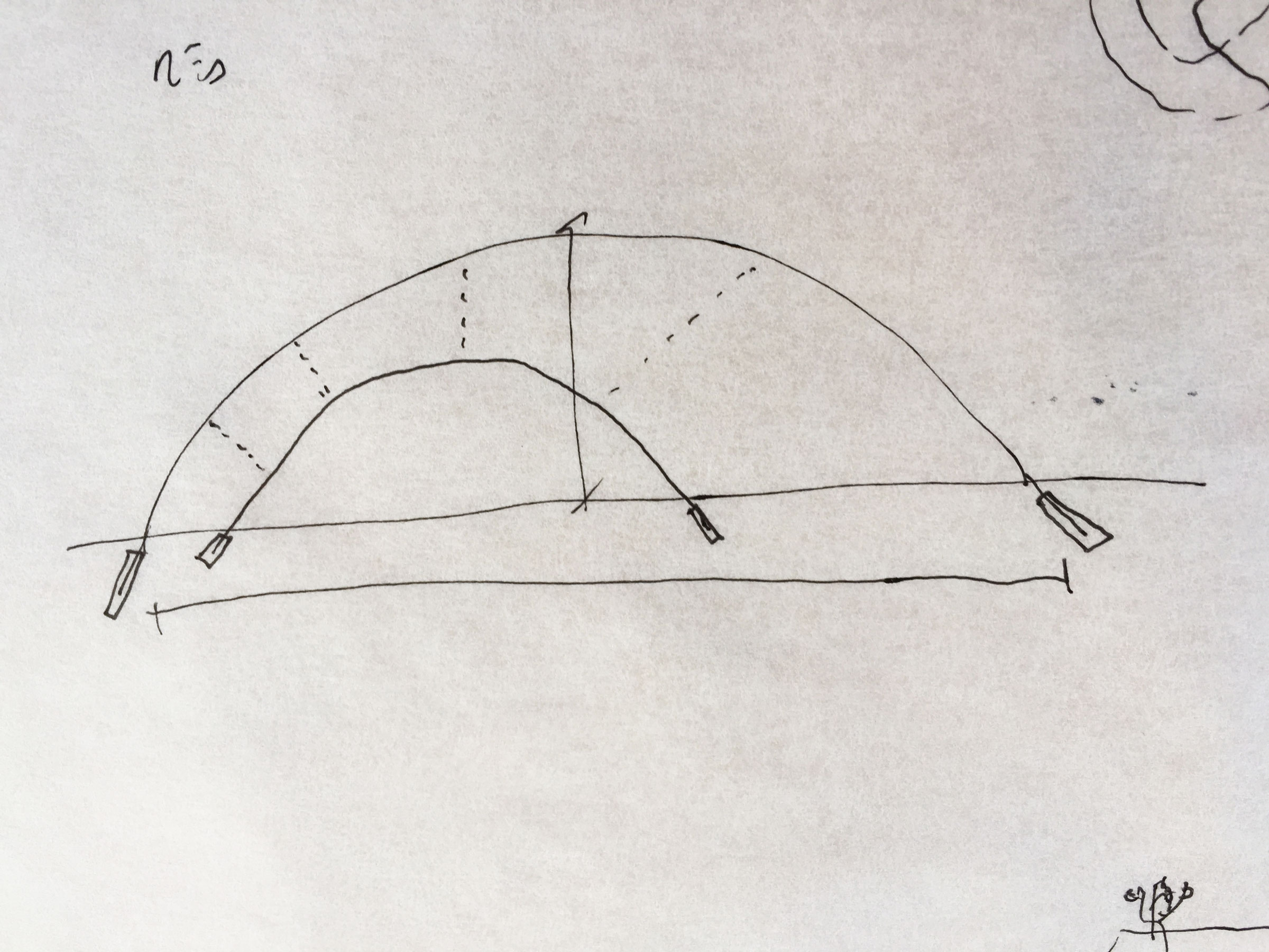 Copy of Inverse foundations prevent dome structure to go back to its line geometry.