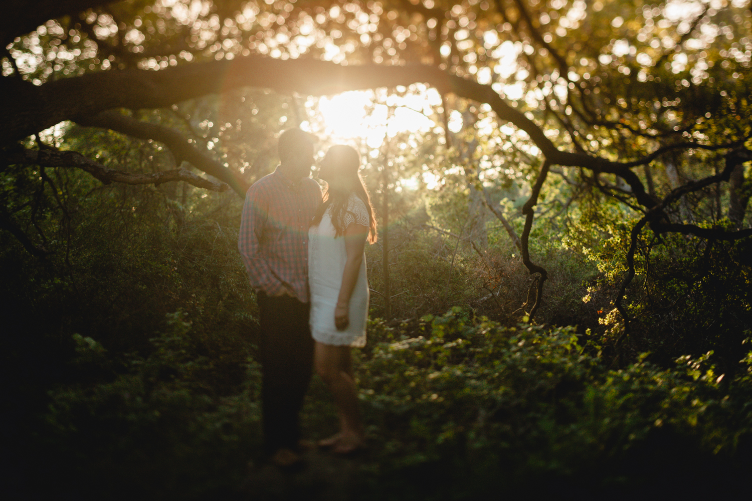 santa barbara rustic engagement photography