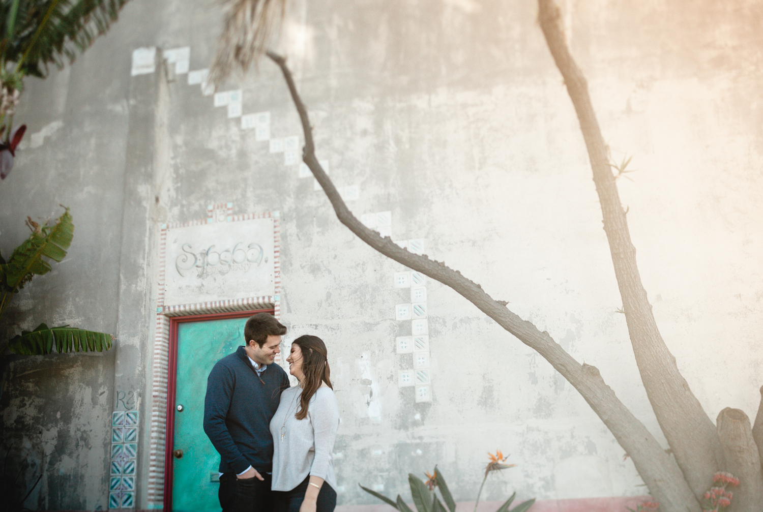 santa barbara urban engagement photographers