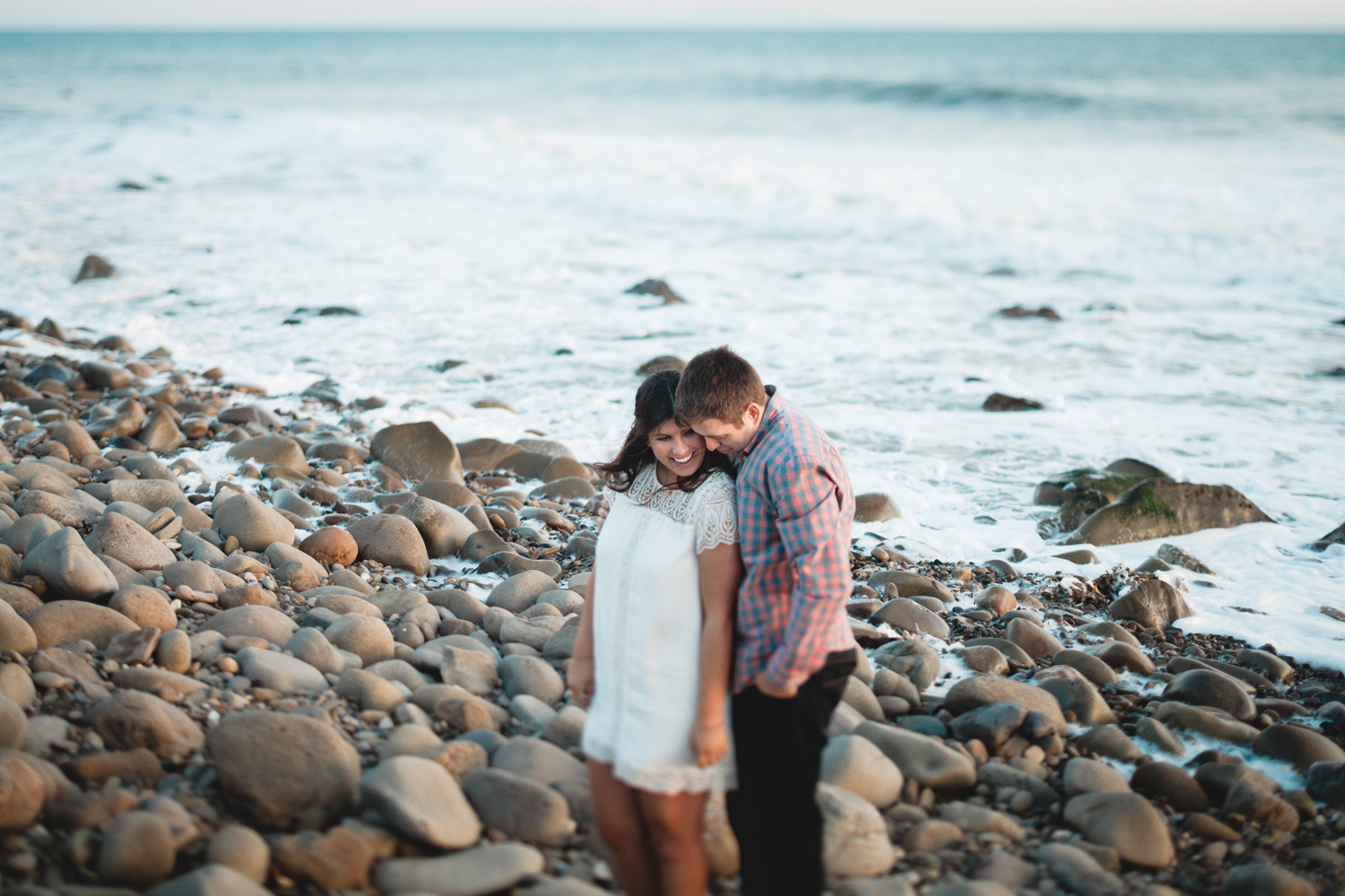 santa barbara el capitan beach engagement photographers