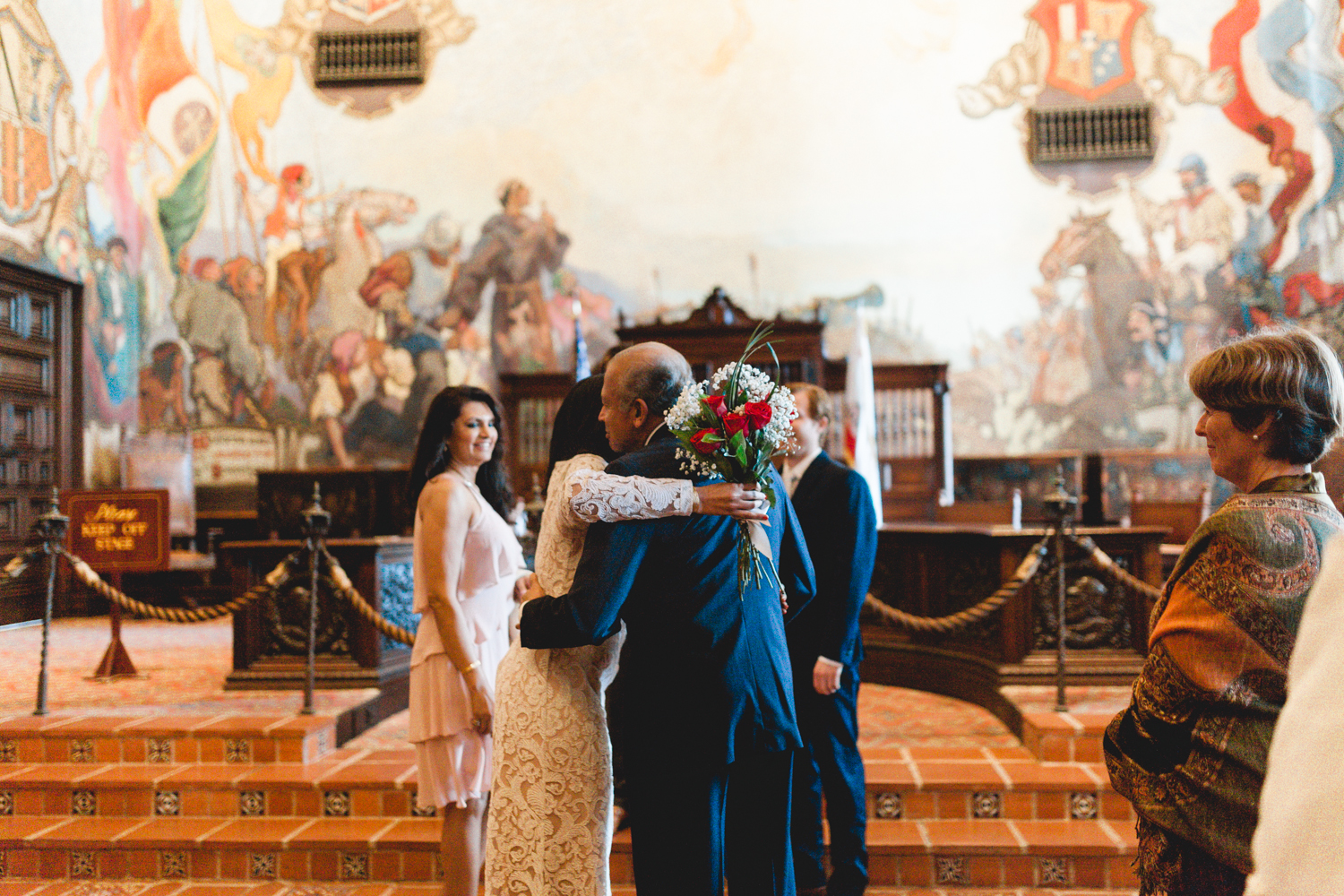 santa barbara courthouse wedding photographers